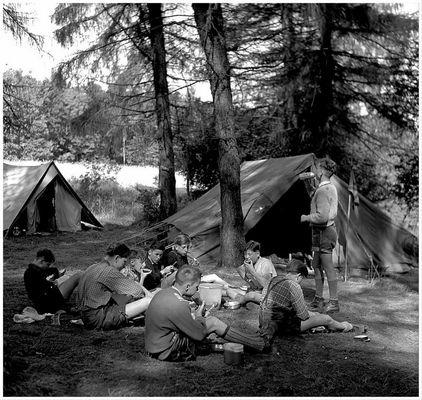 1956 Zeltlager Steinbachtalsperre (11)