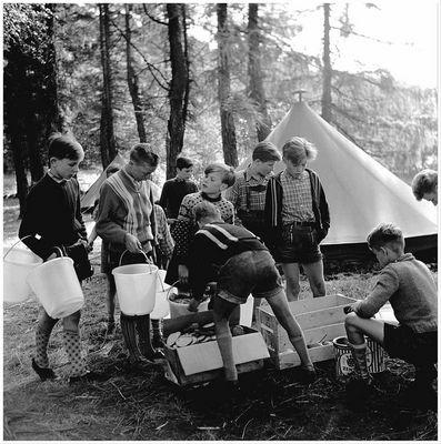 1956 Zeltlager Steinbachtalsperre (3)