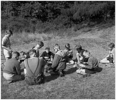 1956 Zeltlager Steinbachtalsperre (5)