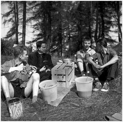 1956 Zeltlager Steinbachtalsperre (8)