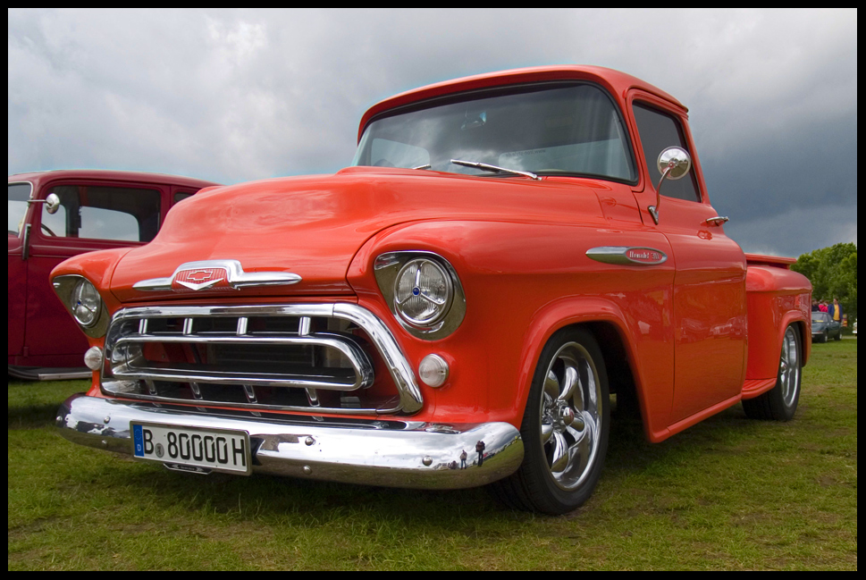 1957 chevrolet pickup foto bild autos zweir der oldtimer youngtimer us cars. Black Bedroom Furniture Sets. Home Design Ideas