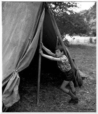 1957 Jugendzeltlager im Baybachtal-Hunsrück (16)