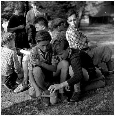 1957 Jugendzeltlager im Baybachtal-Hunsrück (26)