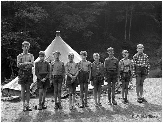 1957 Jugendzeltlager im Baybachtal-Hunsrück (39)