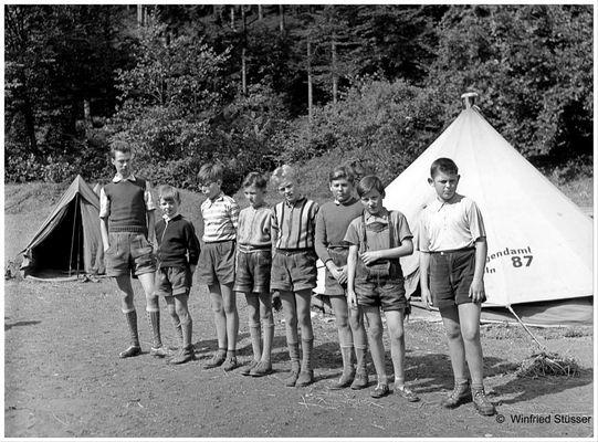 1957 Jugendzeltlager im Baybachtal-Hunsrück (46)