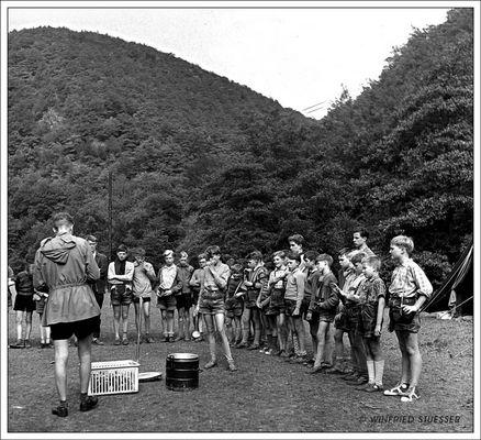 1957 Jugendzeltlager im Baybachtal - Hunsrück (60)
