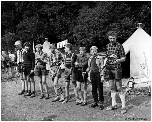 1957 Jugendzeltlager im Baybachtal-Hunsrück (60)