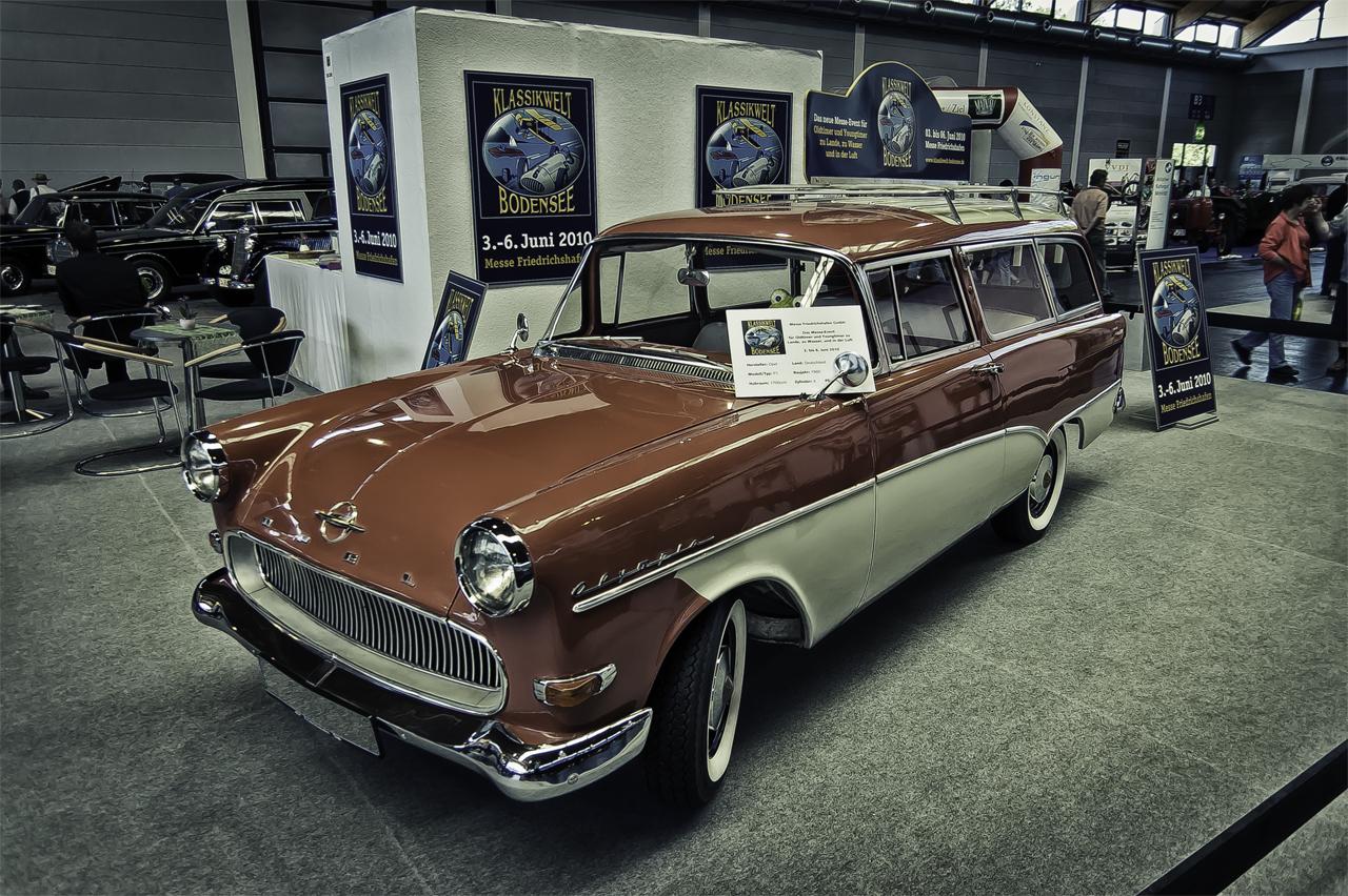 1960 Opel Olympia Caravan