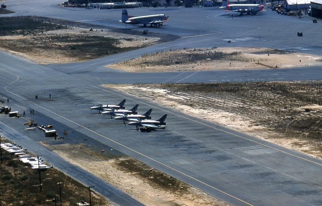1961 Wheelus airbase - Lybia