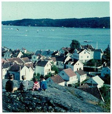 1965-Urlaub-Norwegen- Kragerö -Eine vermeintlich glückliche Kindheit-