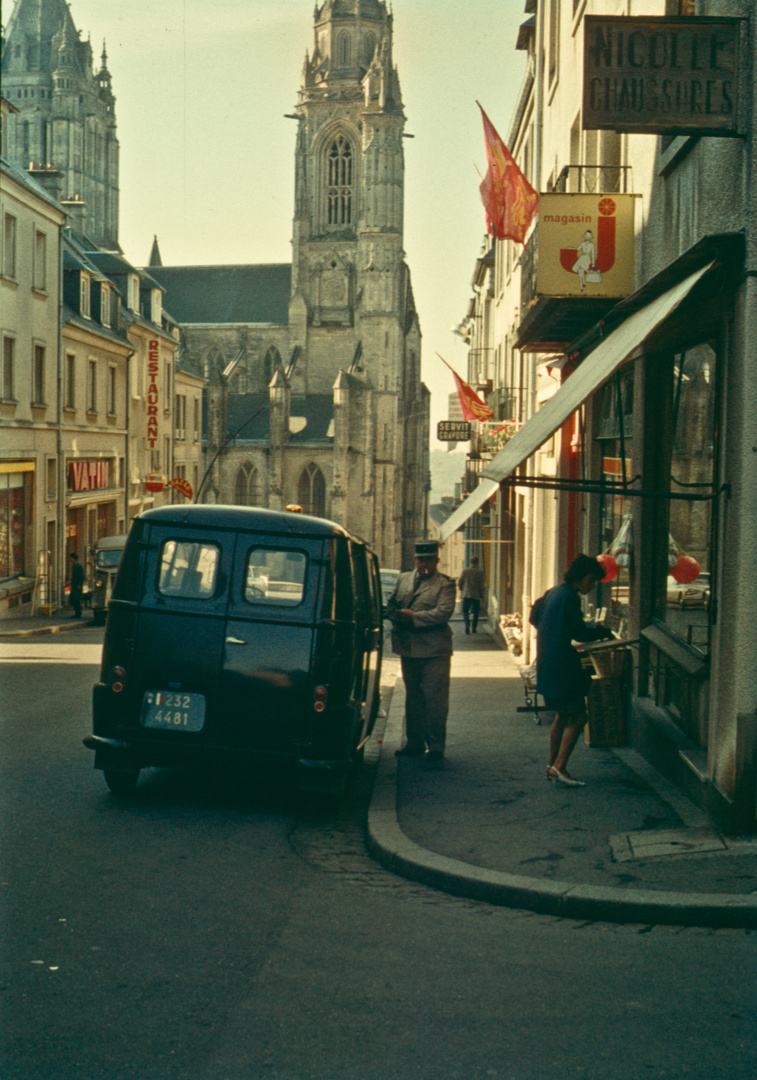 1966 in der Normandie