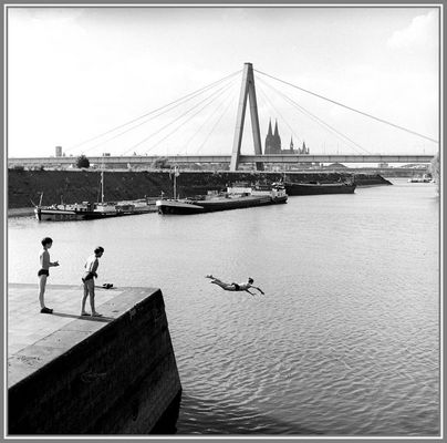 1966 Sommerfreuden am Rhein bei Köln -12-