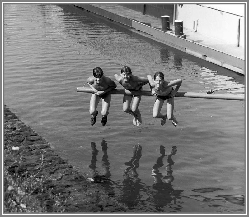 1966 Sommerfreuden am Rhein in Köln -7-