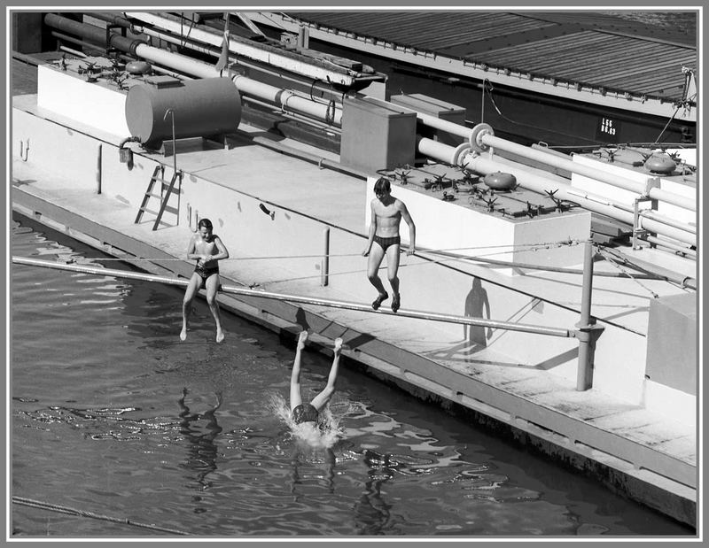 1966 Sommerfreuden am Rhein in Köln -8-