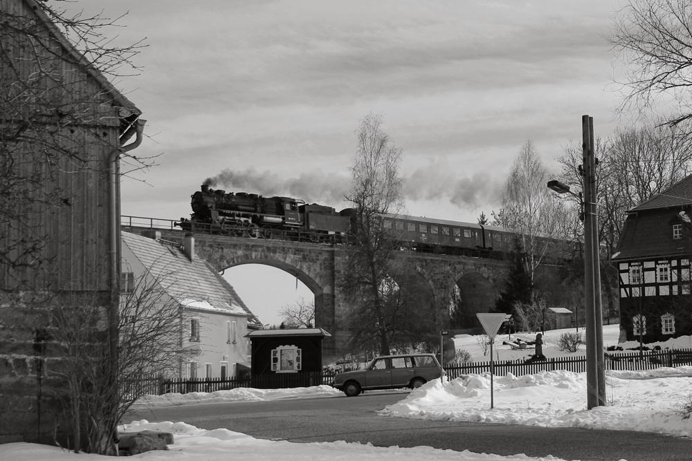 1970 fährt man noch Bahn von Ebersbach nach Löbau