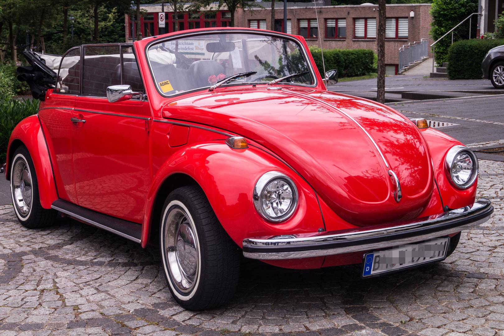 1971er VW Käfer Cabriolet