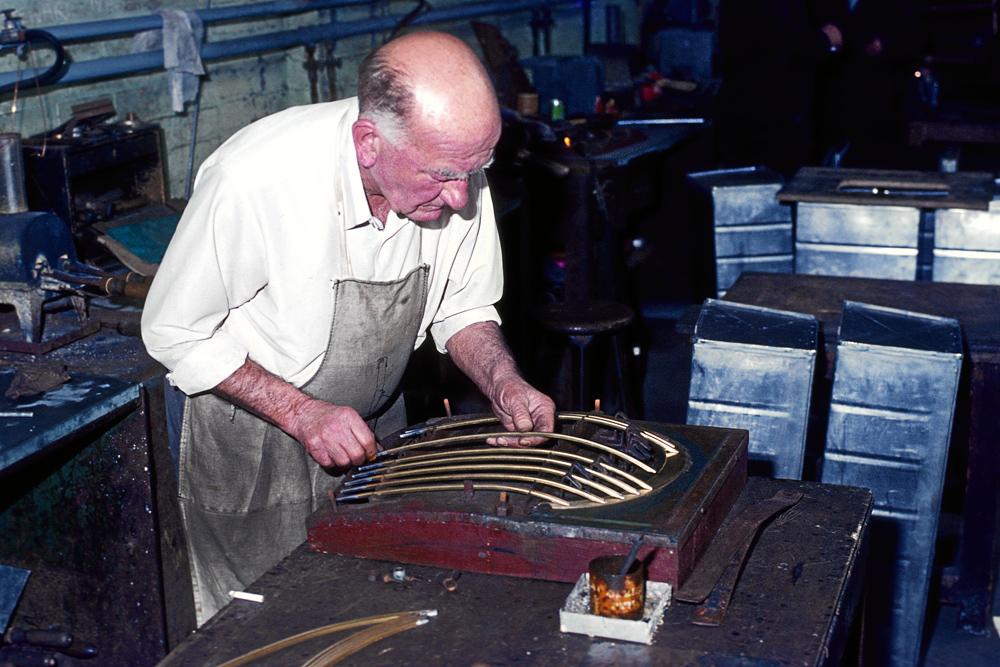 1978: Morgan Motors in Malvern Link (2)