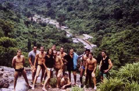 1981 Séjour de 5 semaine au JOCKY GYM de Bangkok avec les copains du BELLONI GYM et du KUROSAKI DOJO