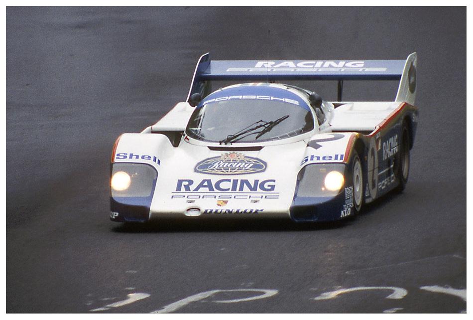 1983 Nürburgring: Bellof im Werks-956