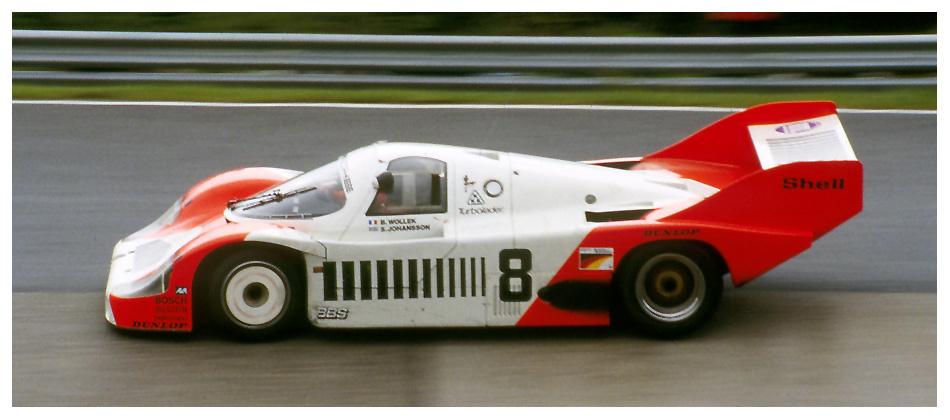 1983 Nürburgring: Joest-956 im Karussell