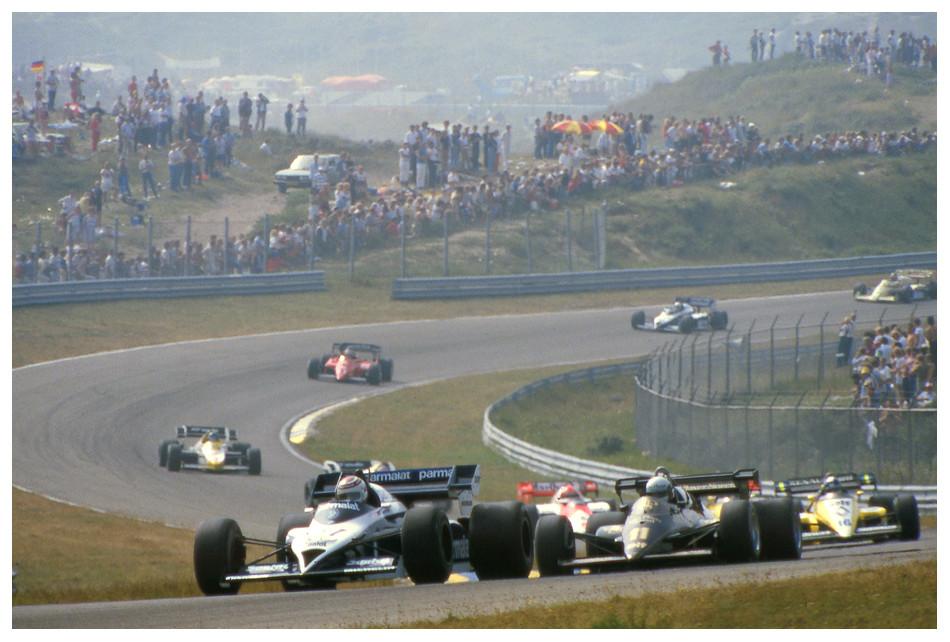 1984 Zandvoort: Sie standen an den Hängen und....