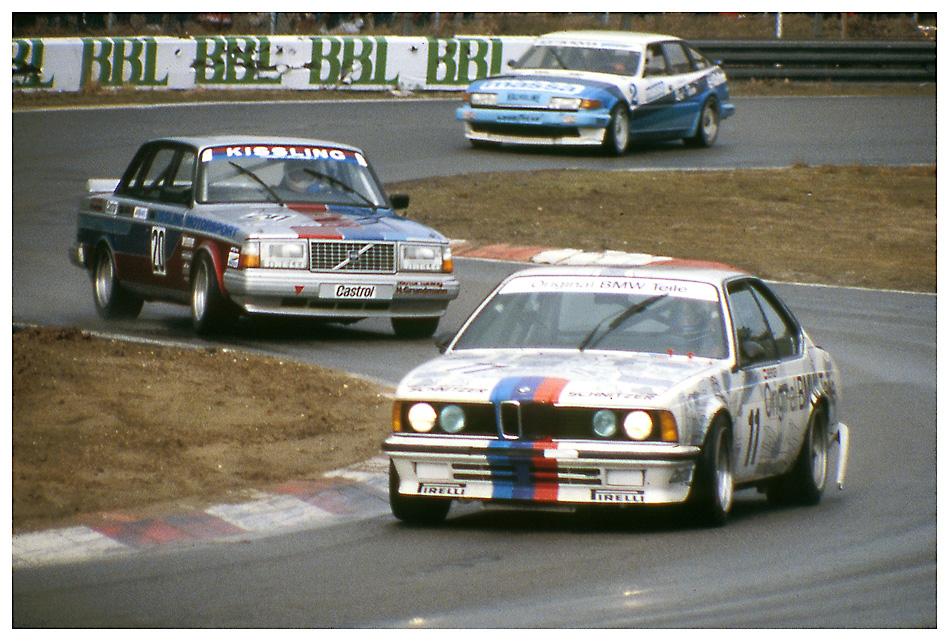 1985 Zolder: Deutsche Produktionswagen Meisterschaft...