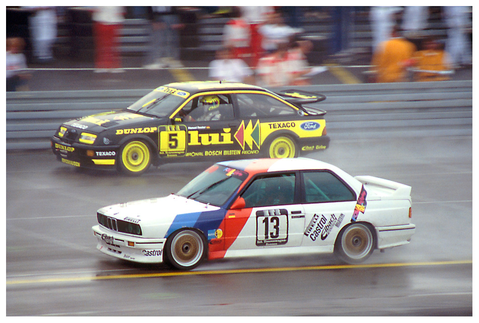 1988 Norisring: DTM im strömenden Regen