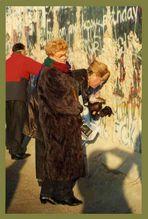 1989: Mauerspechte de luxe
