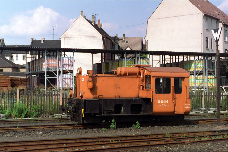 199 011 auf der Harzquerbahn