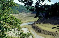 1994 - Entleerung des Rur-Stausees
