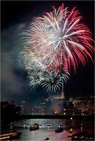 1.August Feuerwerk über Basel