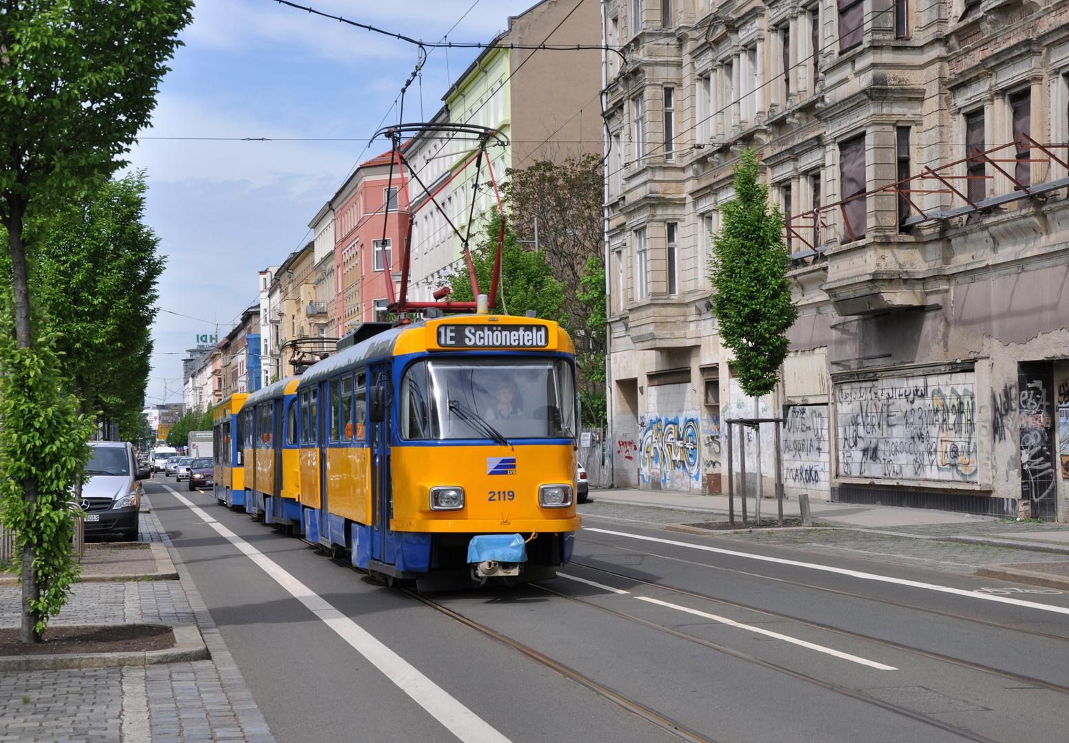 1E nach Schönefeld