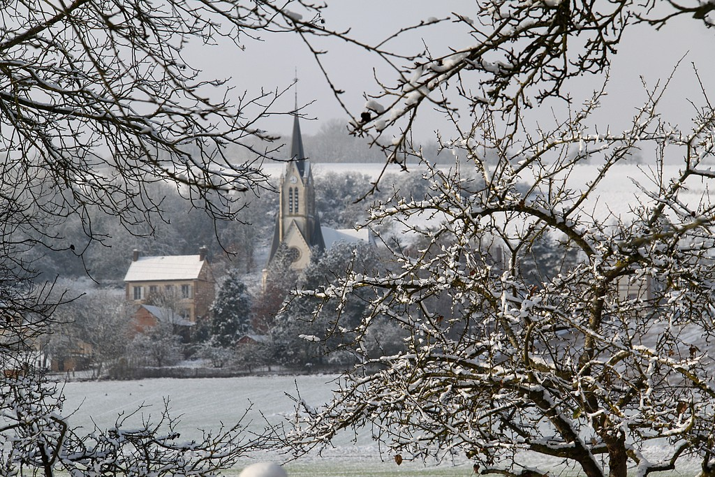 1er Décembre sous la neige!