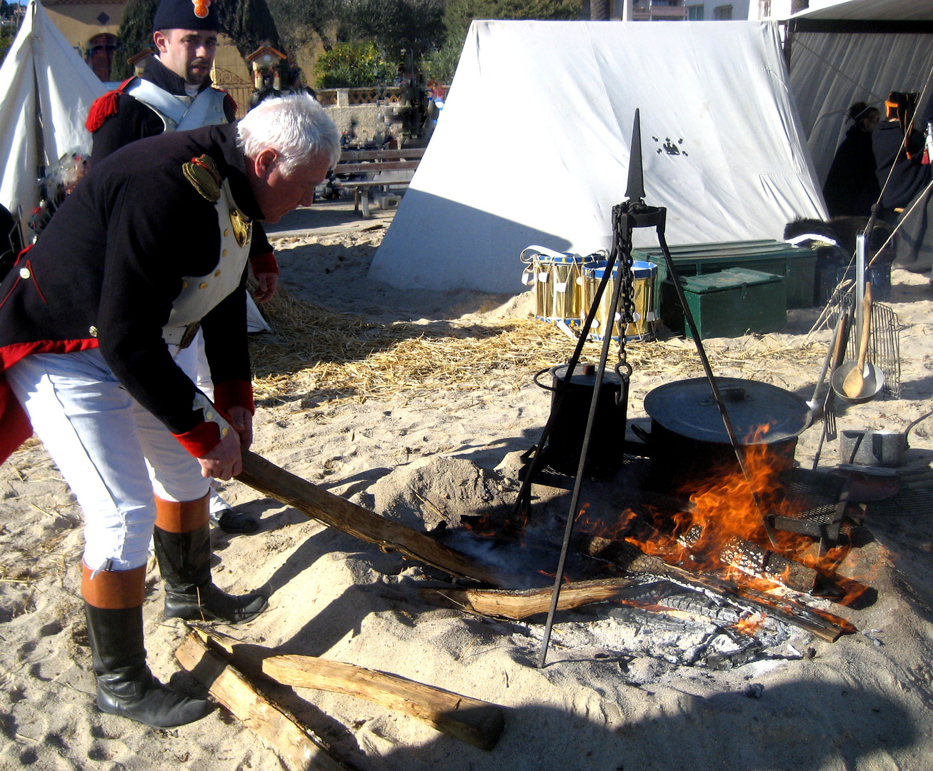 1er Mars 1804 NAPOLEON débarque à Golfe Juan (06) 3