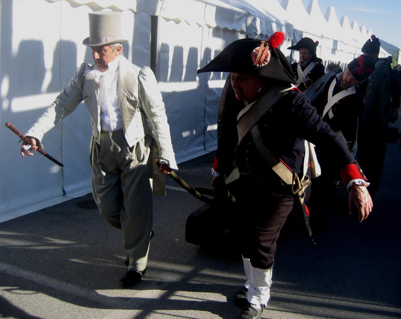1er Mars 1804 NAPOLEON débarque à Golfe Juan (06) 6