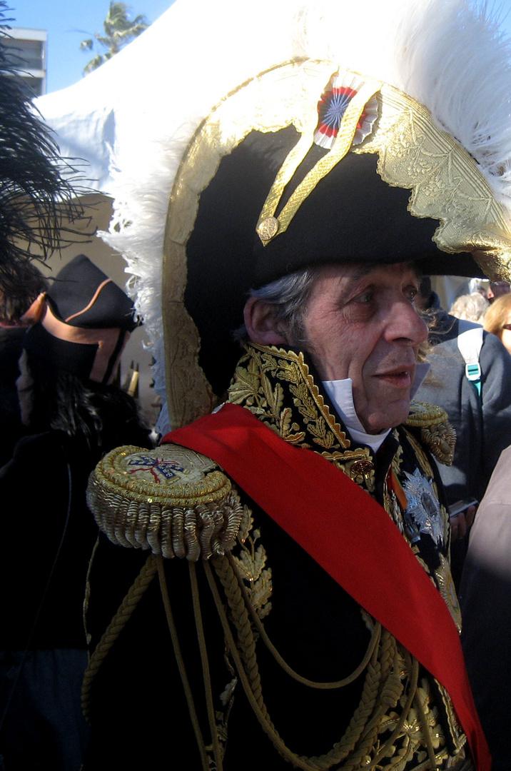 1er Mars 1804 NAPOLEON débarque à Golfe Juan (06) 8