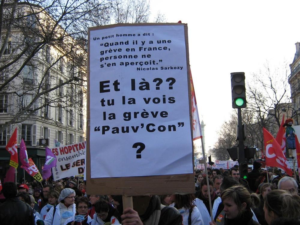 1ER PRIX DE PANCARTE !
