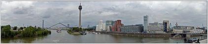 Düsseldorf - Medienhafen - Panorama von Ingeborg K
