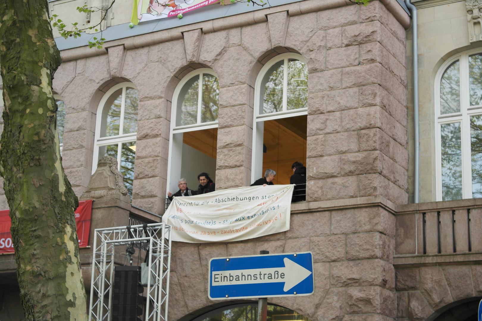 1.Mai 2014, Hamburg, Gewerkschaftshaus