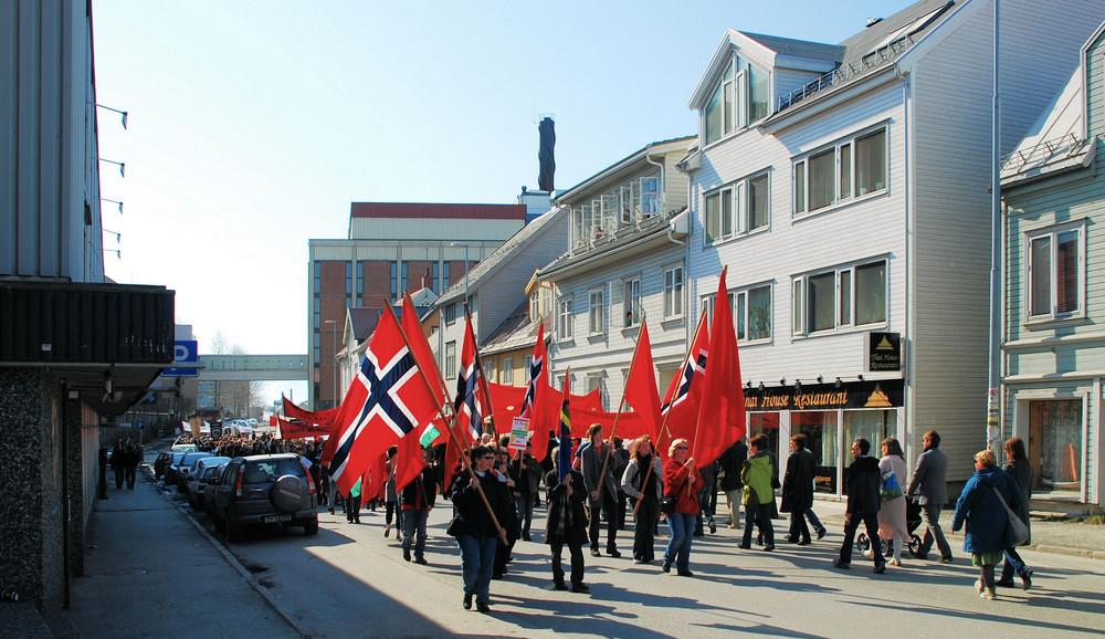 1.Mai in Tromsø