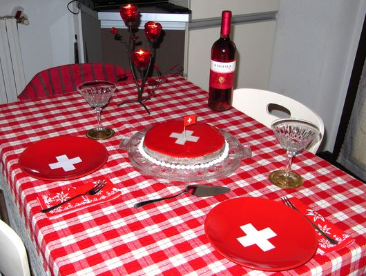 1st August - festivity for foundation of Swiss Confederation 1291