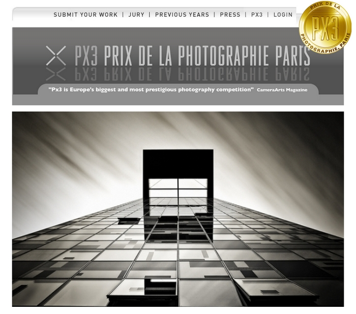 1st place at PX3 - Prix de la Photographie Paris
