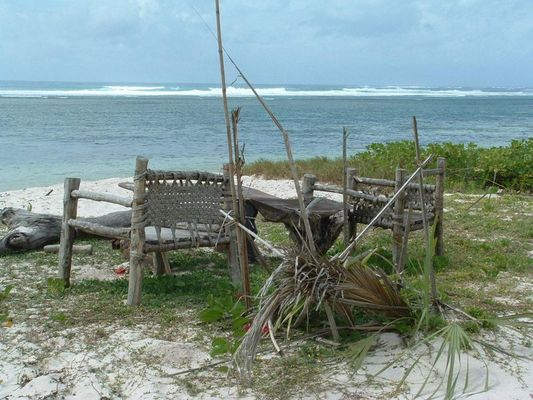 2 chairs .....and the coast