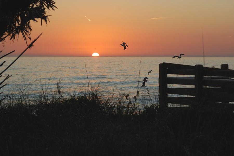 (2) Ein Sonnenuntergang für Zuhausegebliebene...