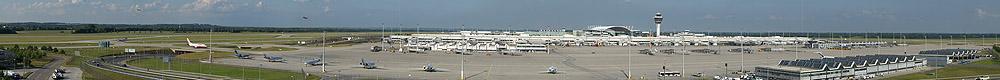 2 Gigapixel Panorama Flughafen München