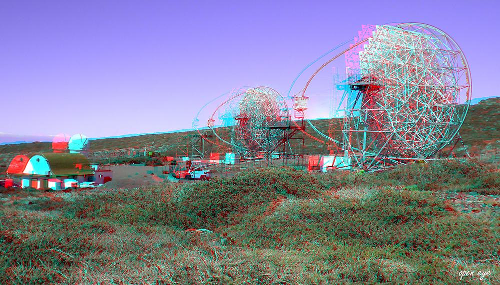 2. _ La Palma _Spiegelteleskop MAGIC IACT