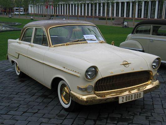 2 Millionster Opel Kapitän