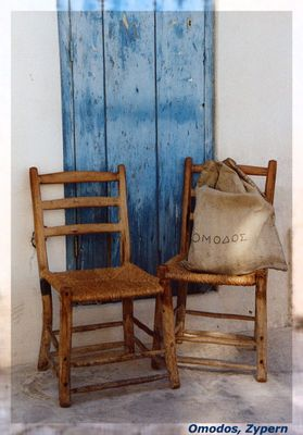2 old chairs ...