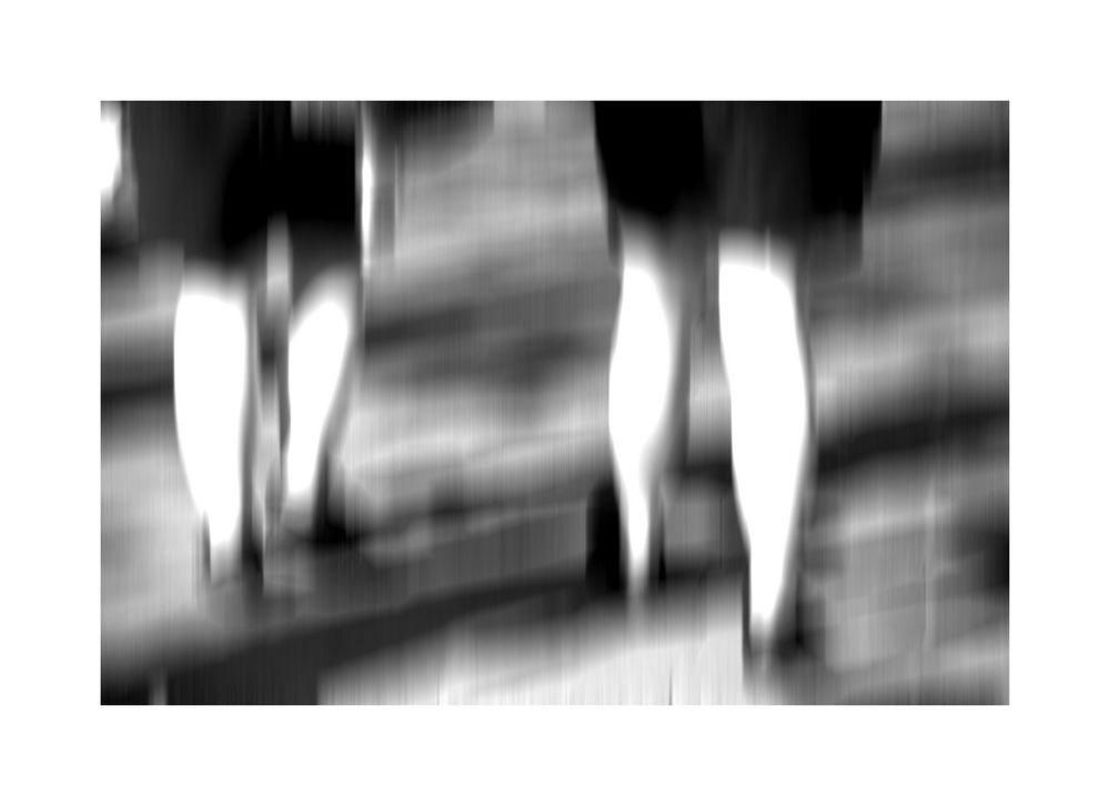 2 paar Beine