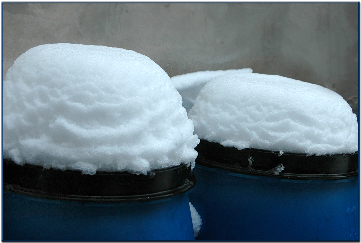 2 Tage Schnee........